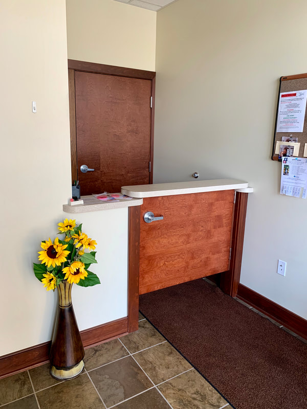 Front Desk of the Connellsville Housing Authority